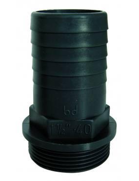 PVC - RACCORD CANNELE MALE